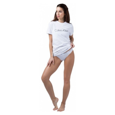 Calvin Klein S/S CREW NECK white - Women's T-shirt