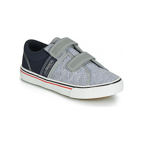 Kappa CALEXI V boys's Children's Shoes (Trainers) in Grey
