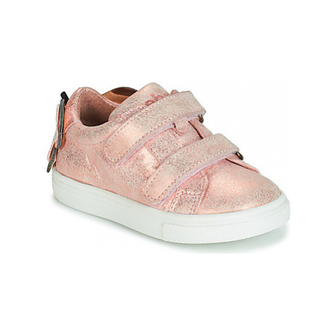 Acebo's BAMBU girls's Children's Shoes (Trainers) in Pink