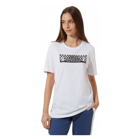 T-Shirt Vans BMX Boyfriend - White - women´s