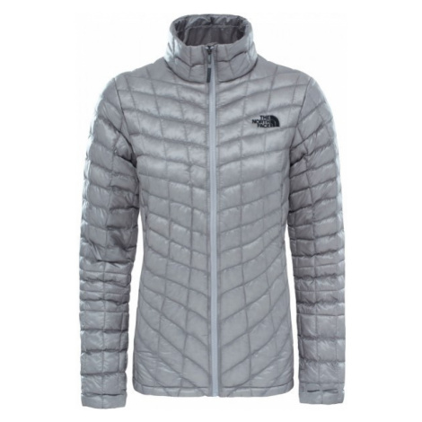 The North Face W THERMOBALL FULL ZIP JACKET gray - Women's insulated jacket