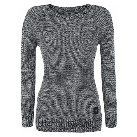 Black Premium by EMP - Feel Me - Girls Sweater - black-white