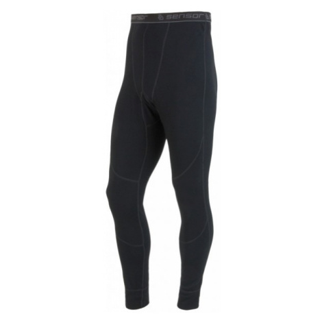 Sensor WOOL UNDERPANT M black - Men's Long Functional Underpants