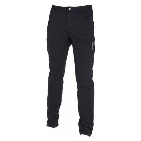 Black men's softshell trousers