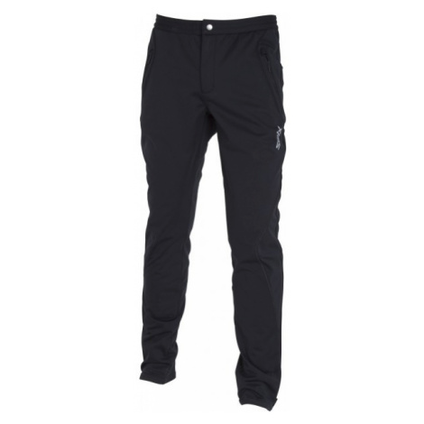 Swix GELIO black - Men's ski softshell trousers