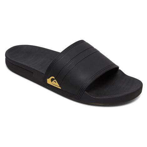 shoes Quiksilver Rivi Slide - XKKY/Black/Black/Yellow - men´s