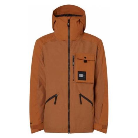Orange men's sports winter jackets