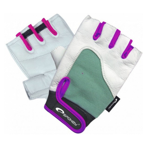 Spokey ZOLIA white - Women's fitness gloves