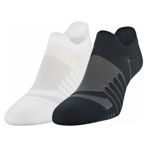 Under Armour Pinnacle Lo Lo Set of 2 pairs of socks Black White