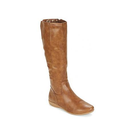 Moony Mood GURLEN women's High Boots in Brown