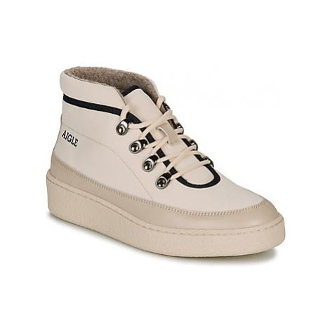 Aigle SKILON MID women's Mid Boots in White