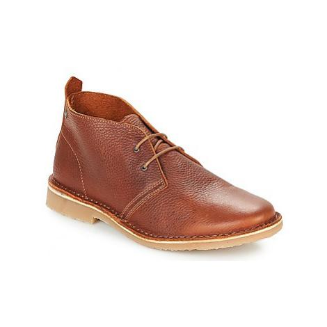 Jack Jones GOBI LEATHER men's Mid Boots in Brown Jack & Jones