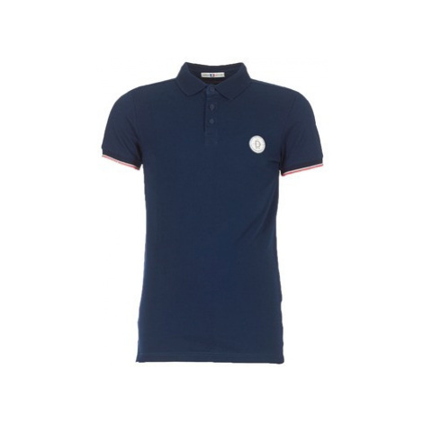 Deeluxe FRANKIE men's Polo shirt in Blue