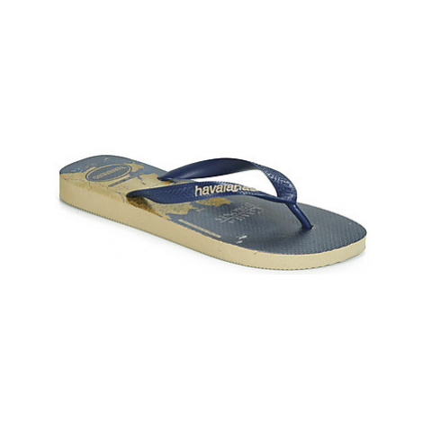 Havaianas TOP GOT men's Flip flops / Sandals (Shoes) in Blue