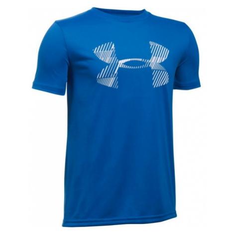 Under Armour COMBO LOGO SS T blue - Boys' T-shirt