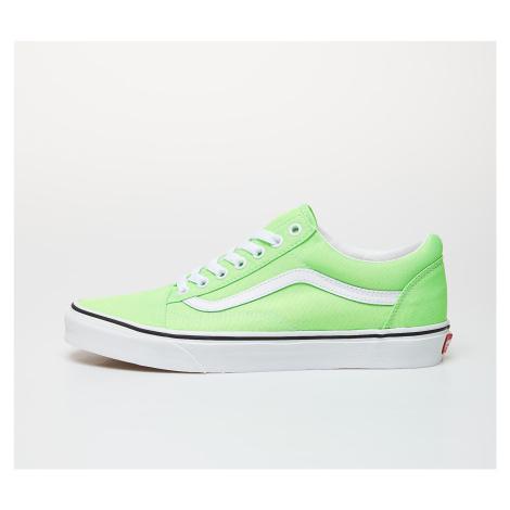 Vans Old Skool (Neon) Green Gecko/ True White