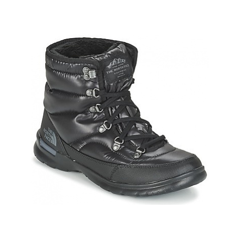 The North Face THERMOBALL LACE II W women's Snow boots in Black
