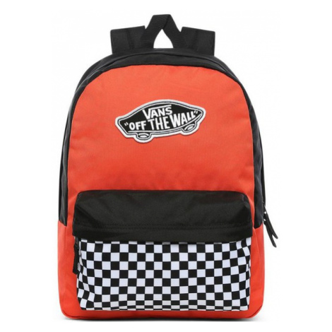 Vans WM REALM BACKPACK Paprika Checker