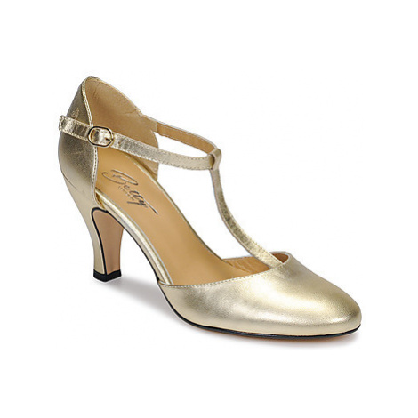 Betty London EPINATE women's Court Shoes in Gold