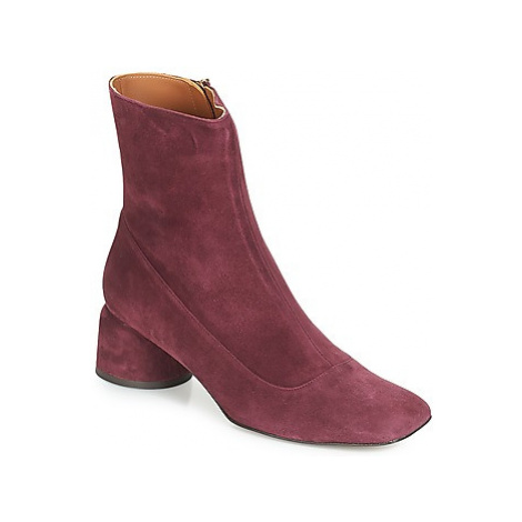 Castaner LETO women's Low Ankle Boots in Bordeaux Castañer