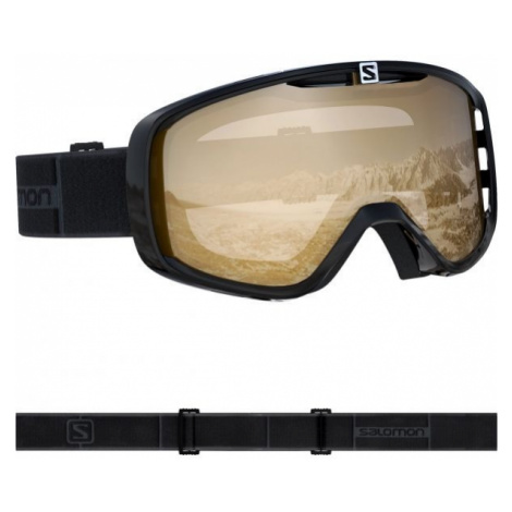 Salomon AKSIUM ACCESS black - Unisex downhill ski goggles