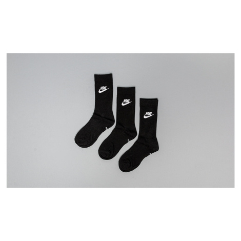 Nike Sportswear Everyday Essential Crew Socks Black/ White