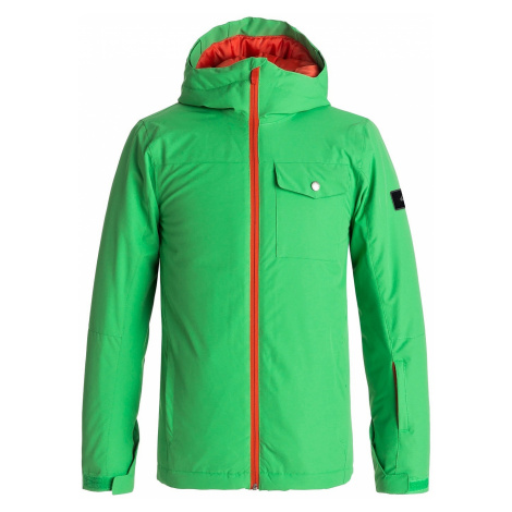 jacket Quiksilver Mission Solid - GNK0/Kelly Green