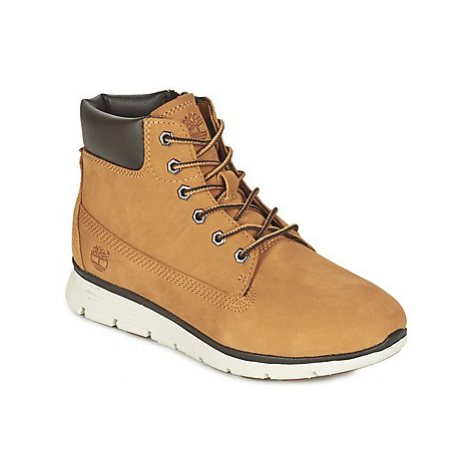 Timberland KILLINGTON 6 IN girls's Children's Shoes (High-top Trainers) in Beige