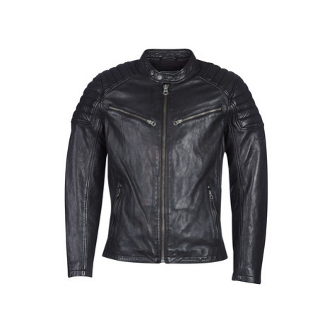 Pepe jeans KEITH SUMMER men's Leather jacket in Black