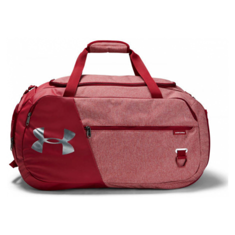 Under Armour UNDENIABLE DUFFEL 4.0 MD red - Sports bag