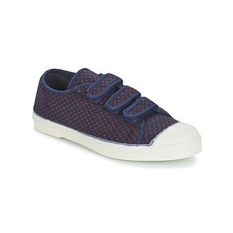 Bensimon TENNIS DEEPIBLU women's Shoes (Trainers) in Blue