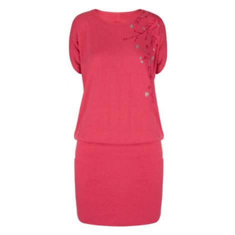 Loap ASLANA pink - Women's sports dress