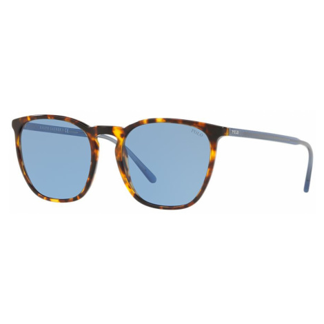 Polo Ralph Lauren Man PH4141 - Frame color: Tortoise, Lens color: Blue, Size 54-19/145