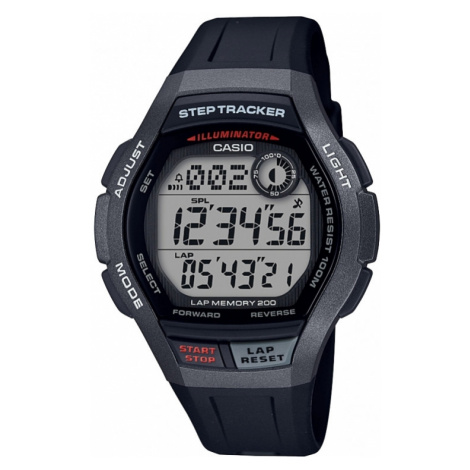 Sports Concept Step Tracker DIG STEP TRACKER Casio
