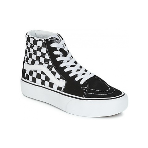 Vans SK8-HI PLATFORM 2.1 women's Shoes (High-top Trainers) in Black
