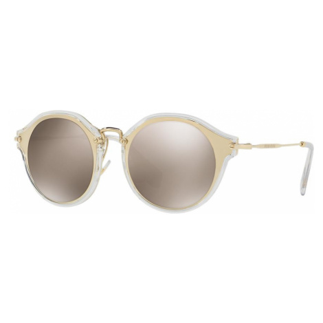 Miu Miu Woman MU 51SS - Frame color: Gold, Lens color: Gold, Size 49-23/140
