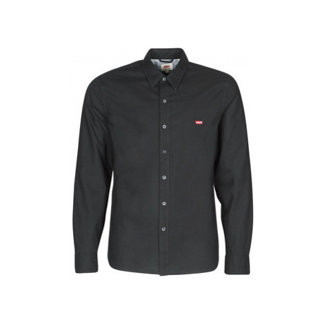 Levis LS BATTERY HM SHIRT BLACK men's Long sleeved Shirt in Black Levi´s