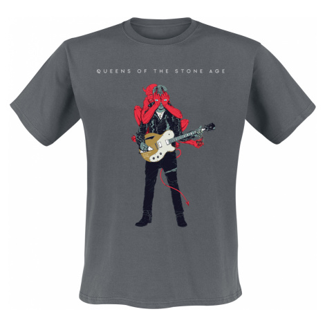 Queens Of The Stone Age - Josh Villains - T-Shirt - grey