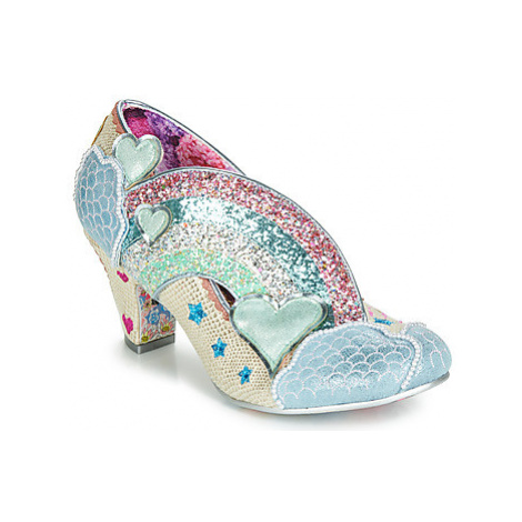 Irregular Choice SUMMER OF LOVE women's Court Shoes in Multicolour