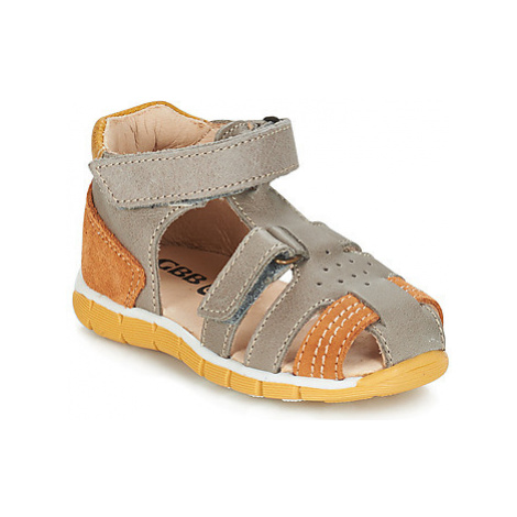 GBB SPARTACO boys's Children's Sandals in Grey