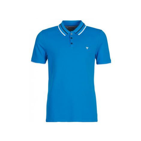 Guess CLAUD men's Polo shirt in Blue
