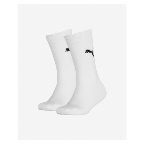 Puma Easy Rider Socks 2 pairs Kids White