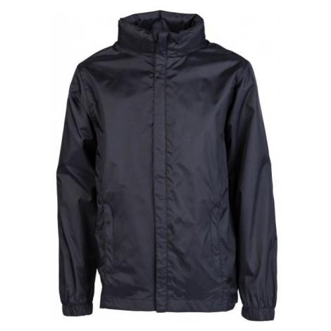 Kensis WINDY JR black - Boys' nylon jacket