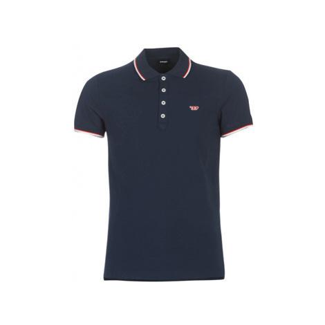 Diesel T RANDY NEW men's Polo shirt in Blue