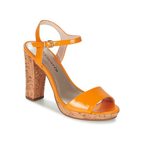 Tamaris BEBE women's Sandals in Orange