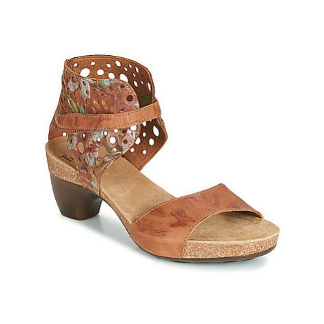 Think TRAUDIA women's Sandals in Brown
