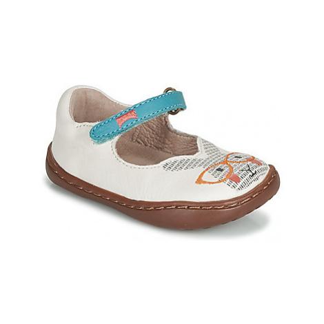 Camper TWS FW girls's Children's Sandals in White