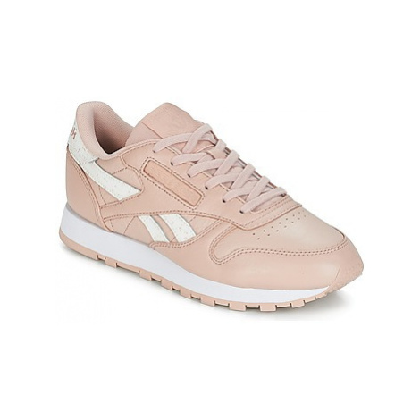 Reebok Classic CLASSIC LEATHER women's Shoes (Trainers) in Pink