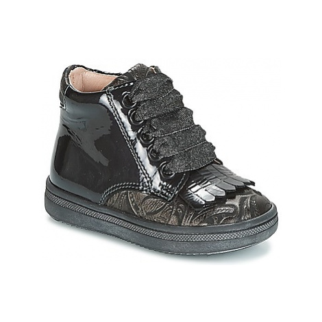 Acebo's DOLAGIRI girls's Children's Shoes (High-top Trainers) in Black