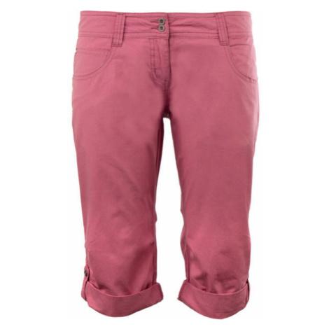 ALPINE PRO KAIURI pink - Women's 3/4 length pants
